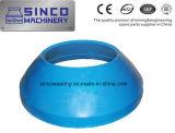 Maalmachine die Concave Vervangstukken en Mantel voor Shanbao Metso dragen