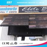 P6mm企業の広告のための屋外の防水フルカラーの前部サービスLEDスクリーン