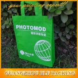 緑の非編まれたEco袋の製造者(BLF-NW229)