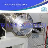 Linha plástica máquina da marca da tubulação da extrusora