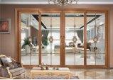 Das meiste populäre Puder-Beschichtung-vertikale schiebende Glasaluminiumfenster