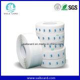 Etiqueta engomada de papel antirrobo de las mercancías 8.2MHz EAS RF
