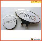 Grampo redondo do chapéu do golfe do marcador do Bal (JINJU16-076)