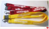 Kundenspezifische Firmenzeichen-Polyester-Abzuglinie mit Metallhaken (YB-LY-13)