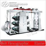 Cuatro color del papel de impresión flexográfica Máquina (CE)