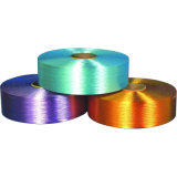 100% Polyester Dope-Dyed Filament Yarn FDY (300d/96f Trilobal Bright) for Hand Knitting, Weaving