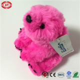 Dark Pink Cute Teddy Fluffy Farcies Soft Polar Bear Toy