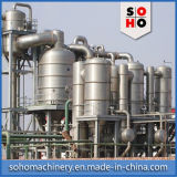 Evaporador de película de queda eficiente elevado do vácuo do preço de fábrica de Shjo