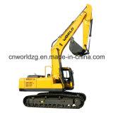 A máquina escavadora hidráulica da esteira rolante compara à máquina escavadora 320