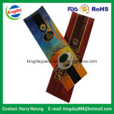 Bolso de café material metálico con los escudetes laterales