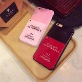 Caja de lujo caliente de la PC del espejo del polaco de clavo para iPhone6