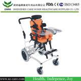 기대는 아기 뇌성 마비 휠체어