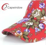 100%年の綿が付いているすべての花の印刷のトラック運転手の帽子