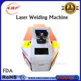 máquina de la soldadura por puntos de laser 100W para la joyería