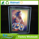 Casella chiara esterna del cristallo LED di pubblicità di alta qualità