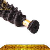 試供品100%の自然なインドの加工されていない毛の拡張