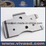 O CNC feito à máquina parte as peças diferentes do alumínio do projeto