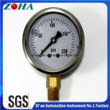 Indicateur de pression inférieur miniature de résistance aux chocs de connexion