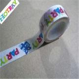 Impresión de patrón de bricolaje de papel de la cinta adhesiva