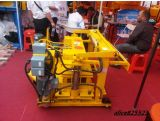 Máquina de fatura de tijolo hidráulica pequena móvel de choque