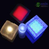 10 * 10MM 24V 3W LED بلاط الأرضيات مع تشديد الزجاج + PC