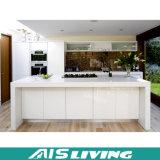 フォーシャンの工場卸売PVC MDFの光沢度の高い食器棚の家具(AIS-K017)