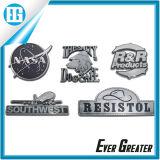 Custom Red Chrome Metal Car Names e logotipo emblema