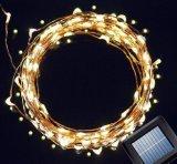 La lumière solaire économiseuse d'énergie de décoration de /Christmas DEL de la lumière de chaîne de caractères de DEL