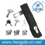 Fechamento elétrico de Rod do punho do gabinete da liga do zinco (YH9508)