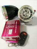 Audio sistema di allarme impermeabile del motociclo MP3