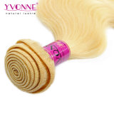 Estensione all'ingrosso dei capelli dei Peruvian di colore 613 dei capelli di Remy