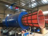 큰 Capacity Diamond Trommel Scrubber, 남아프리카에 있는 Dismond Trommel Washplant