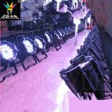 Lumière d'étape de la PARITÉ 64 de la couleur 18X15W DEL de modification de RGBWA 5in1