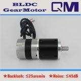 Motor sin cepillo BLDC de NEMA23 60W con 1:50 de la relación de transformación de la caja de engranajes