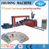 colle Coating sur Paper pp Woven Machine