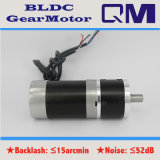 Motor sin cepillo BLDC de NEMA23 120W/1:4 de la relación de transformación de la caja de engranajes