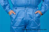 Roupa de trabalho longa da luva do poliéster 35%Cotton da segurança 65% da alta qualidade (BLY2004)