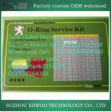 Fabricante do jogo personalizado profissional do anel-O da borracha de silicone de Viton
