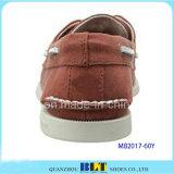 Nuevos zapatos del barco del cuero de la manera