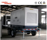 Diesel mobile Generator Set (With Trailer à quatre roues, 100kVA) (HF80T2)