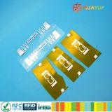 EPC1 Gen2電池の追跡のための耐熱性UHF RFIDの象眼細工のラベルの札