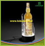 Botella de vino de acrílico del LED Glorifier, visualización de Glorifier de la botella