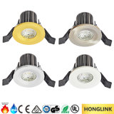 세륨 SAA TUV IP65 90mins 화재 정격 8W Dimmable LED Downlight