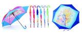 Straight Carton Printing Children Umbrella
