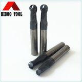 Het Eind van de Bal van het Carbide van China HRC50 maalt Snijder