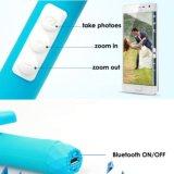 Bastone di Selfie con il periferico senza fili incorporato telescopico di Bluetooth