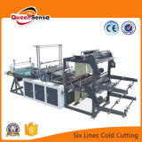 China sechs Zeilen kalter Ausschnitt-Beutel, der Maschine herstellt