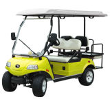 Carro de golf/cochecillo con verde del panel solar 2+2-Seater