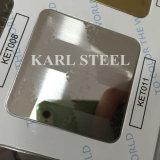 La couleur d'acier inoxydable a repéré la feuille Ket011 pour des matériaux de décoration