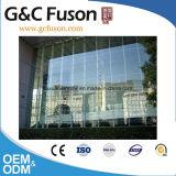 Mur rideau en aluminium de guichet en verre Tempered de bâti pour la construction